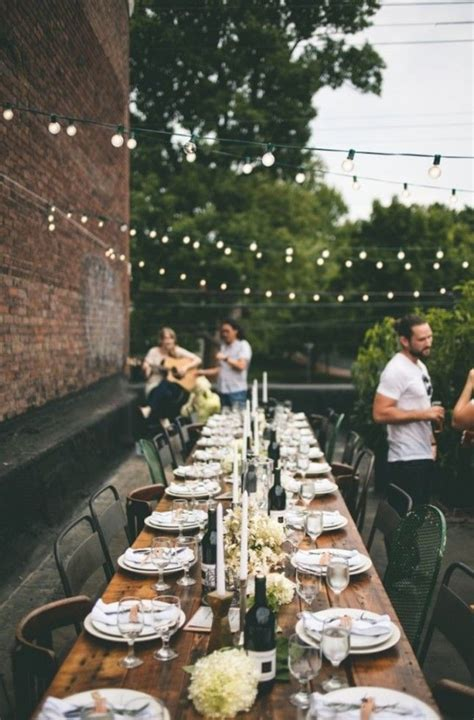 a rooftop dinner is the perfect place to host your
