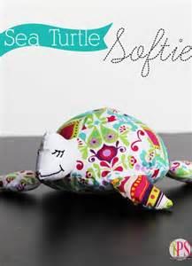 Sea Turtle Softie Pattern