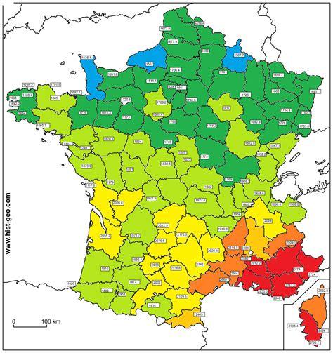 Carte Ensoleillement by Carte De L Ensoleillement En Sur Le Forum
