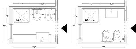 disposizione sanitari bagno disposizione sanitari bagno rettangolare