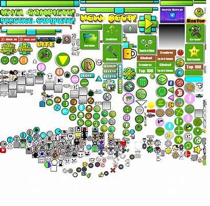 Geometry Dash Texture Pack Gamesheet Gj Uhd