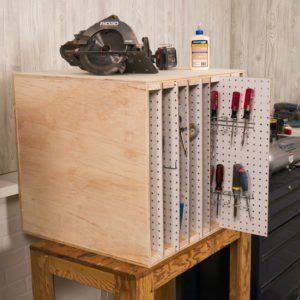 small workshop storage solutions pegboard storage