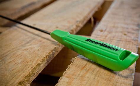 strapbandit  professional pallet threading tool banding machine