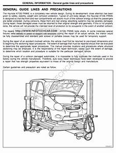Hyundai Atos Body Service And Repair Manual - Zofti