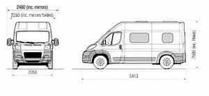 Fiat Ducato Dimensions Exterieures : gem van conversion external dimensions husbilar pinterest motorhome camper y vans ~ Medecine-chirurgie-esthetiques.com Avis de Voitures