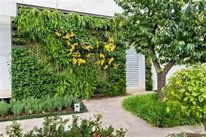 les 25 meilleures idees concernant mur vegetal palette sur With idee deco exterieur jardin 0 un jardin vertical en palettes joli place
