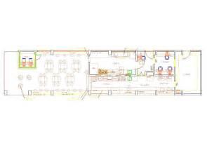 cuisine autocad fast food 2d dwg plan for autocad designs cad