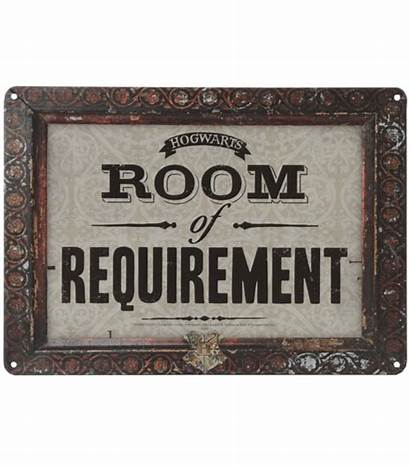 Sign Requirement Potter Harry Signs Hogwarts Tin