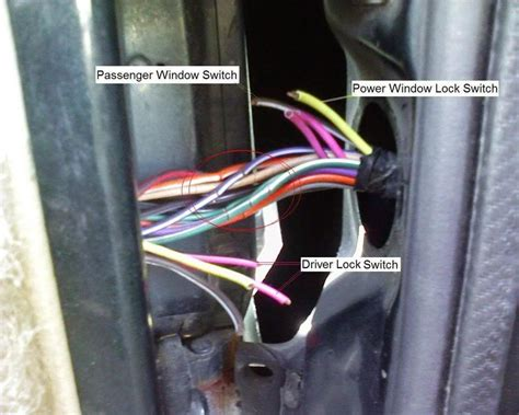 2001 Jeep Grand Door Wiring Harnes by Wiring In Driver S Side Door Jeep Forum