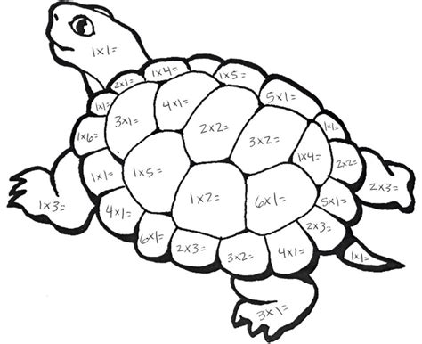 math coloring pages    print
