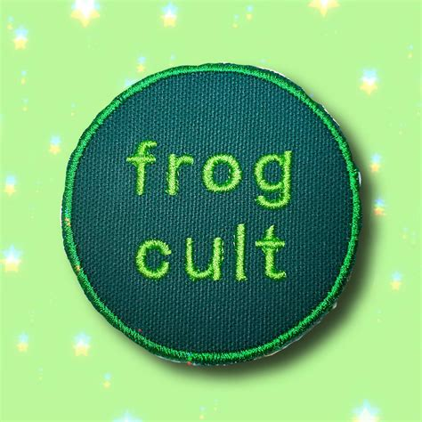 Memesoundboard.com, the largest soundboard dedicated to memes. Frog Cult Kidcore Meme Green On Dark Green Embroidered Iron On | Etsy
