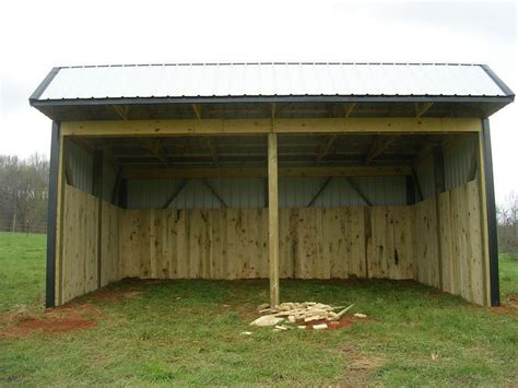 cattle loafing shed plans