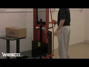 Wesco Powered Stackers Platform Model YouTube