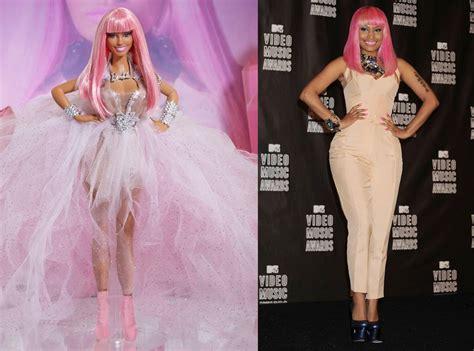 Nicki Minaj From Celebs With Their Own Barbie Dolls  E! News