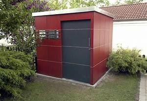 Wpc Gartenhaus Flachdach : gartenhaus und ger tehaus modernes flachdach wartungsfrei ~ Whattoseeinmadrid.com Haus und Dekorationen