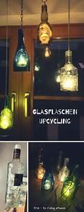 Laternen Aus Flaschen : laternen aus glasflaschen diy flaschen upcycling tre ~ A.2002-acura-tl-radio.info Haus und Dekorationen