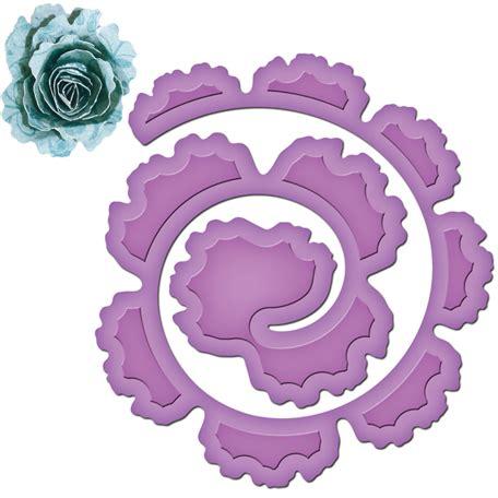 spellbinders shapeabilities spiral blossom  die