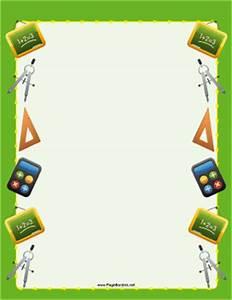 Math Border
