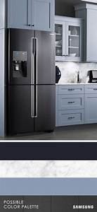 17 best images about samsung kitchen design on pinterest With kitchen colors with white cabinets with samsung sticker