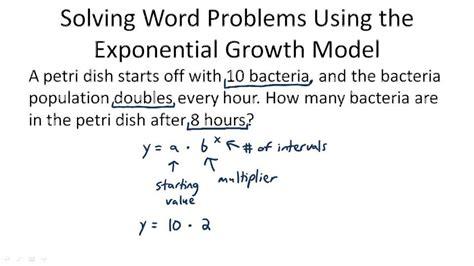 favorite exponential functions word problems worksheet