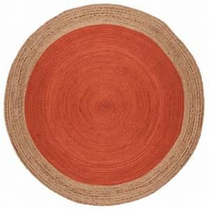Tapis Rond Rouge : tapis rond rouge id es de d coration int rieure french decor ~ Teatrodelosmanantiales.com Idées de Décoration