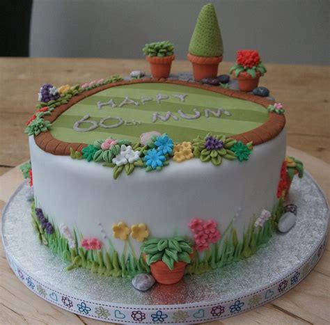 cake garden 60th garden cake flickr photo sharing