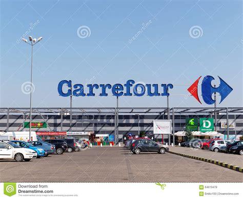 si鑒e carrefour carrefour grossmarkt redaktionelles stockbild bild 64619479