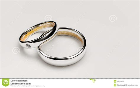 pair of wedding rings stock photo image 35220850