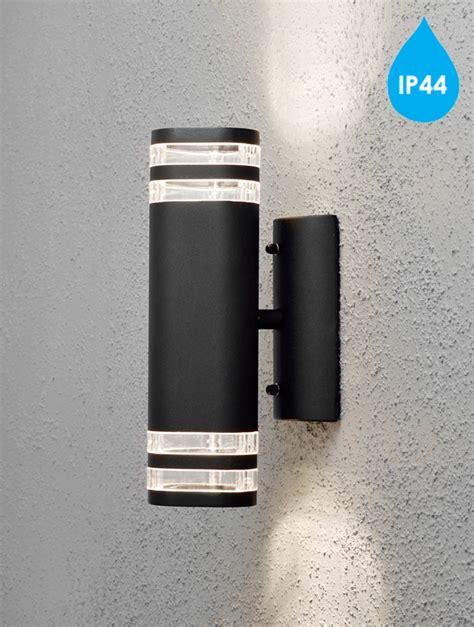 konstsmide modena ip44 2 light outdoor up wall