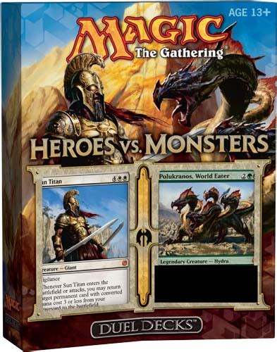 magic the gathering sle decks 2013 magic the gathering dual decks heroes vs hotmc