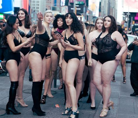 Times Square Body Positive Fashion Show [video]