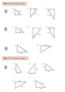 Trigonometry Review Worksheet Geometry Basic Trigonometry Trig Soh Cah Toa By Ajf43 Teaching Resources Tes