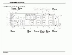 2004 Ford Escape Wiring Diagram