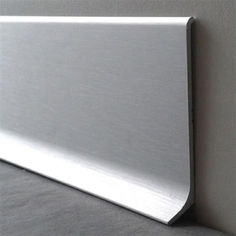 plinthe alu cuisine plinthe alu anodisé brossé 60mm plinthe alu com