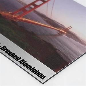 Alu Dibond Aufhängen : brushed aluminium dibond signs print 2 media ltd ~ Eleganceandgraceweddings.com Haus und Dekorationen