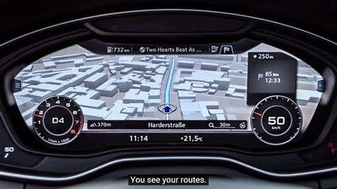 audi up display new audi a4 shows cockpit tech in