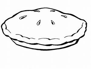 Apple Pie Outline Clipart - Clipart Kid - Coloring Home