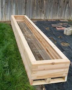 Reclaimed raised garden bed planter 3 custom by rushton llc for Planter beds raised