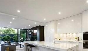 Spot Plafond Salon : 10 exemples d 39 clairages led encastr s qui subliment la d co ~ Edinachiropracticcenter.com Idées de Décoration