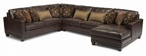 flexsteel latitudes port royal transitional four piece With flexsteel sectional sofa with chaise