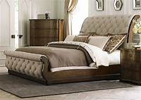 upholstered sleigh bed Cotswold King Upholstered Sleigh Bed from Liberty (545-BR ...
