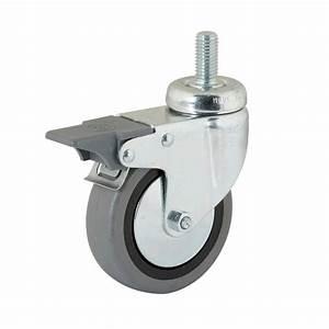 Roue Pivotante : roue pivotante avec la vis sans t te rotative et frein de blocage 0683567538 ~ Gottalentnigeria.com Avis de Voitures