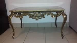 Table Basse Ancienne : table basse style italien en marbre ancienne les ~ Dallasstarsshop.com Idées de Décoration