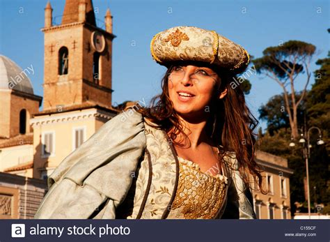 Italian Costume Stock Photos And Italian Costume Stock