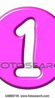 Stock Illustration of 3D Comic Number 1 k0860716 - Search ...