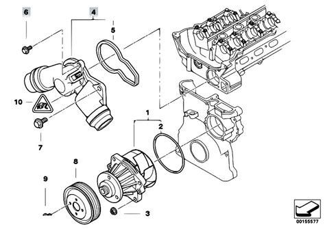 Bmw M52 Engine Diagram by Original Parts For E46 323ci M52 Coupe Engine Waterpump