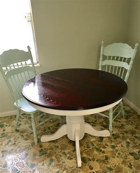 oak table makeoverredo upcycled