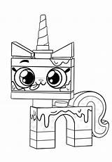 Coloring Unikitty Cake Kitty Sprinkle Favourites sketch template