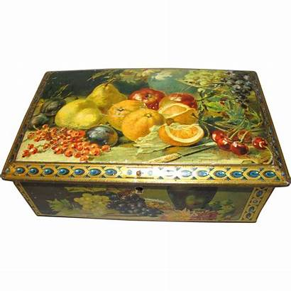 Still Fruit Tin Colorful Lovelies Judy Rubylane