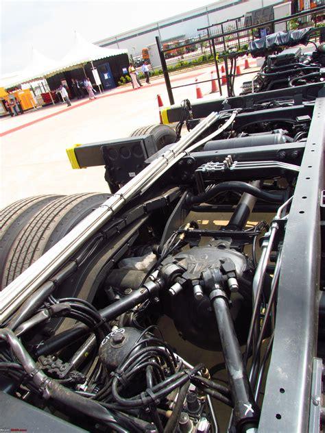 pics scania multi axle chassis team bhp